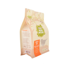 Snack Coffee Seeds Nuts Candy Tea Zip Lock Ziplock Laminated Stand up Pouch Kraft Paper Flexible Packaging Bag