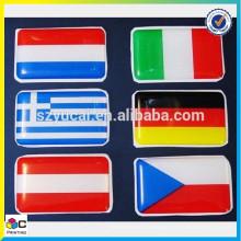 Custom epoxy polyurethane dome resin stickers wholesale epoxy stickers