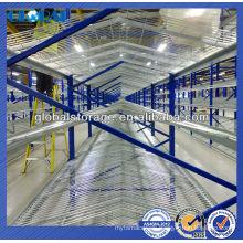 Warehouse Storage Bright Zinc Plated Wire Decking