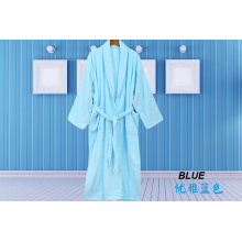 Einfache bunte Robe Terry Tuch Robe Spa Robes