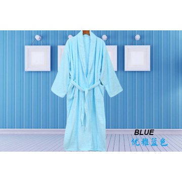 Plain Kleurrijke Robe Terry Cloth Robe Spa Robes