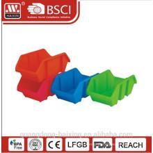 Plasitc utilitaire empilable basket(2pcs)