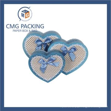 Heart Shape Cardboard Packing Cardboard Gift Box