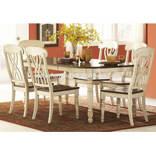 European style white dining table and chair XYN1497