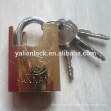 Позолоченный ключ-висячий замок