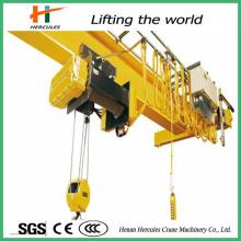 Modelo LD CE certificados Control remoto solo Girder10 toneladas grúa de arriba
