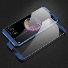 HD Blue Tempered Glass voor Huawei Honor V10