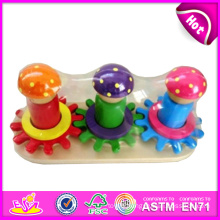 2014 New Kids Wooden Iq Toy Popualr Cute Mini Children Iq Toy, Hot Sale Colorful Baby Wooden Iq Toy W13e043