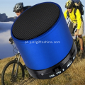 Cilindro promocional forma Bluetooth Speaker