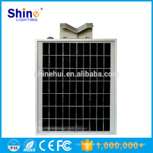 Luz de calle solar integrada ip65 8w todo-en-uno integrada led