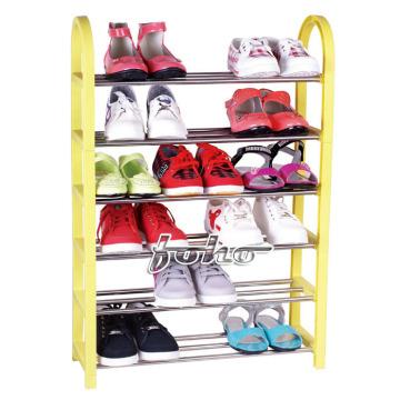 Bricolage coloré 6 Palstic Shoe rack (FH-SR0056)