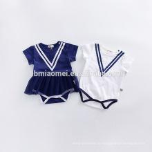 2017 новый стиль девочка одежда хлопок детские ползунки 3шт /набор бутик оптовая детская одежда