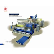 Máquina para hacer película de tres tornillo automático tramo PE