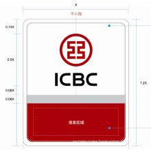 Icbc Bank Brightness Thin LED Light Box LED Panel