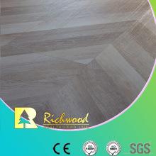 Herringbone AC4 E0 Wax Coating HDF Maple Laminated Flooring
