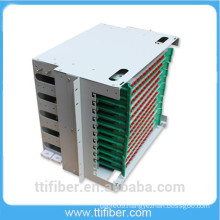 144 ports Rack Mounted ODF/ Fiber Patch Panel with FC adapter