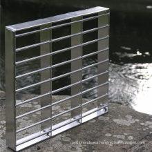 Galvanized Aluminum Steel Bar Grating, Metal FRP Grating