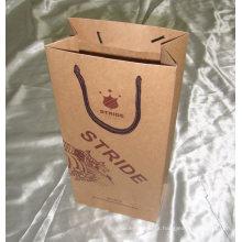 Bolsa de papel personalizado de alta qualidade profissional