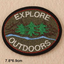 Fabric Sew-On Custom Shape Embroidery Patches