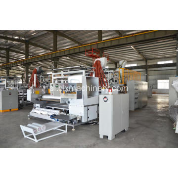 LLDPE Stretch Film Co-Extruder Wrap Film Unit