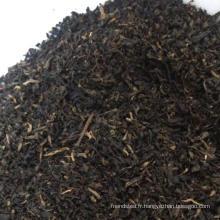 Particules de thé noir du Yunnan