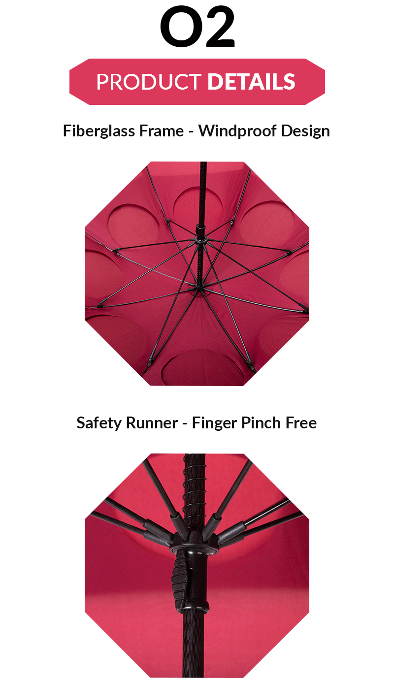 windproof outdoor umbrella