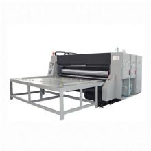 Popular product box cardboard 4colors flexo printing machine