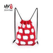 горячей продажи высокое качество холст рюкзак мешок на продажу