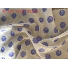 Tejido de seda de nylon de algodón de algodón de poliéster