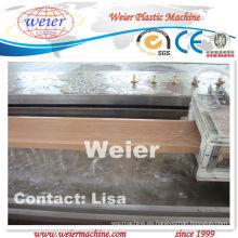 Máquina del perfil de WPC para decking plástico de madera