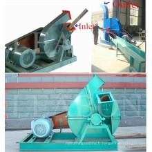 Rendement élevé 8-12 tonnes par heure Broyeur à cisailles / broyeur à bois / déchiqueteuse à bois ordinaire 25 à 35 mm Longue durée