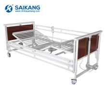 SK011-3 Многофункциональный Электрический стальной складывая кровать больницы клиники