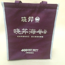 Eco-Friendly Non Woven Tote Insulated Thermal Cooler Bag Picnic Bag