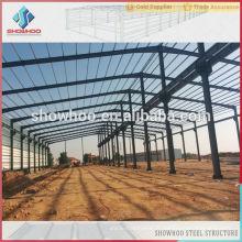 Bâtiments en acier pré-construits de l'avenue claire atelier de construction en acier structuré bâtiments industriels d'entrepôt