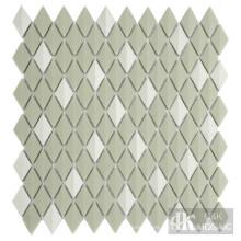 Baldosas de vidrio iridiscente de diamante