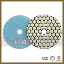 Diamant-Trockenpolierpad für Steine