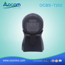 OCBS-T202 : Handfree 2D Imaging USB Barcode Scanner machine for supermarket