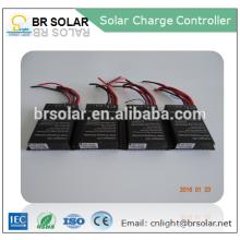 système de contrôle d'éclairage intelligent pwm contrôleur de charge solaire
