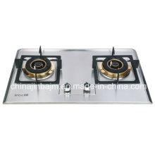 Cuisinière à gaz 2 brûleurs no 120 * # 120 en acier inoxydable