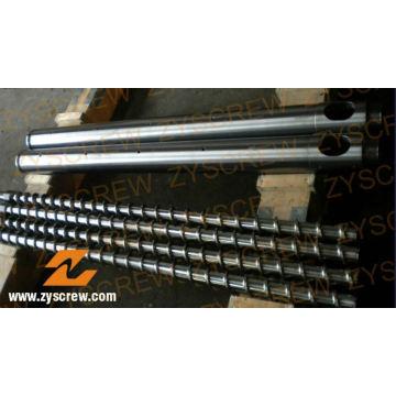 Bimetallic Screw Barrel Manufacturer PE Film Profile Pipe Extrusion Screw Barrel