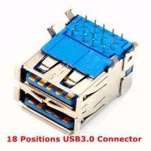 18 Positions USB3.0 Connecteur