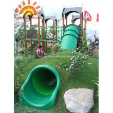 Outdoor Straight Playground Tube Slide Zu Verkaufen