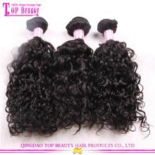 Оптовая дешевые Европейские волосы связок человеческие волосы 100% необработанных связки 7А класс бесплатный образец волос связки