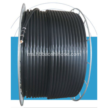 Paip HDPE Steel Braided Pipeline