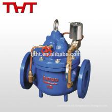 válvula solenoide eléctrica con control de flujo de agua
