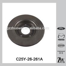Fine Mazda M5 BK / BL Pièces de rechange automatiques Disque de frein C25Y-26-261