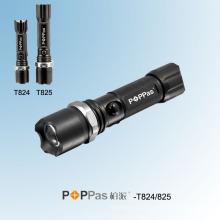Rotary Dimming CREE XP-E Polícia Lanterna LED (POPPAS-T824 T825)