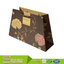 O equipamento avançado feito impressão feita sob encomenda do cartão do logotipo recicl o saco o mais barato do presente do papel do girassol