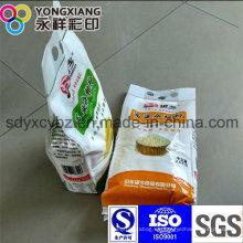 PA portátil laminado grano / harina / arroz bolsa de plástico de embalaje