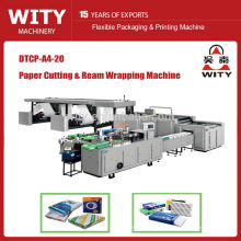 2015 high speed model DTCP series full automatic A4 size paper cutting machine price